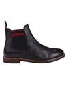 Brent Leather Chelsea Boot - Black