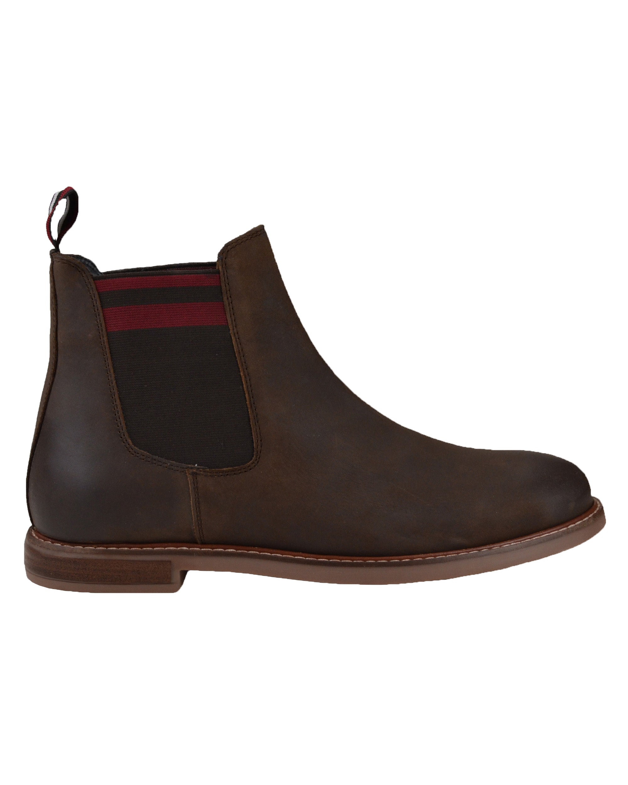 Brent Leather Chelsea Boot - Brown