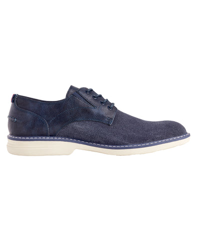 Countryside Washed Canvas Oxford - Navy