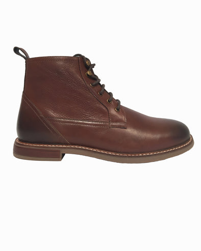 Birk Plain-Toe Boot - Dark Brown