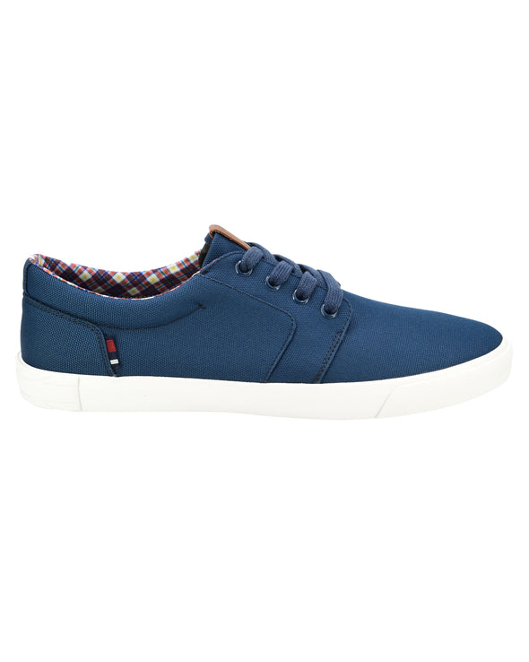 Pete Oxford Lace-Up Sneaker - Navy