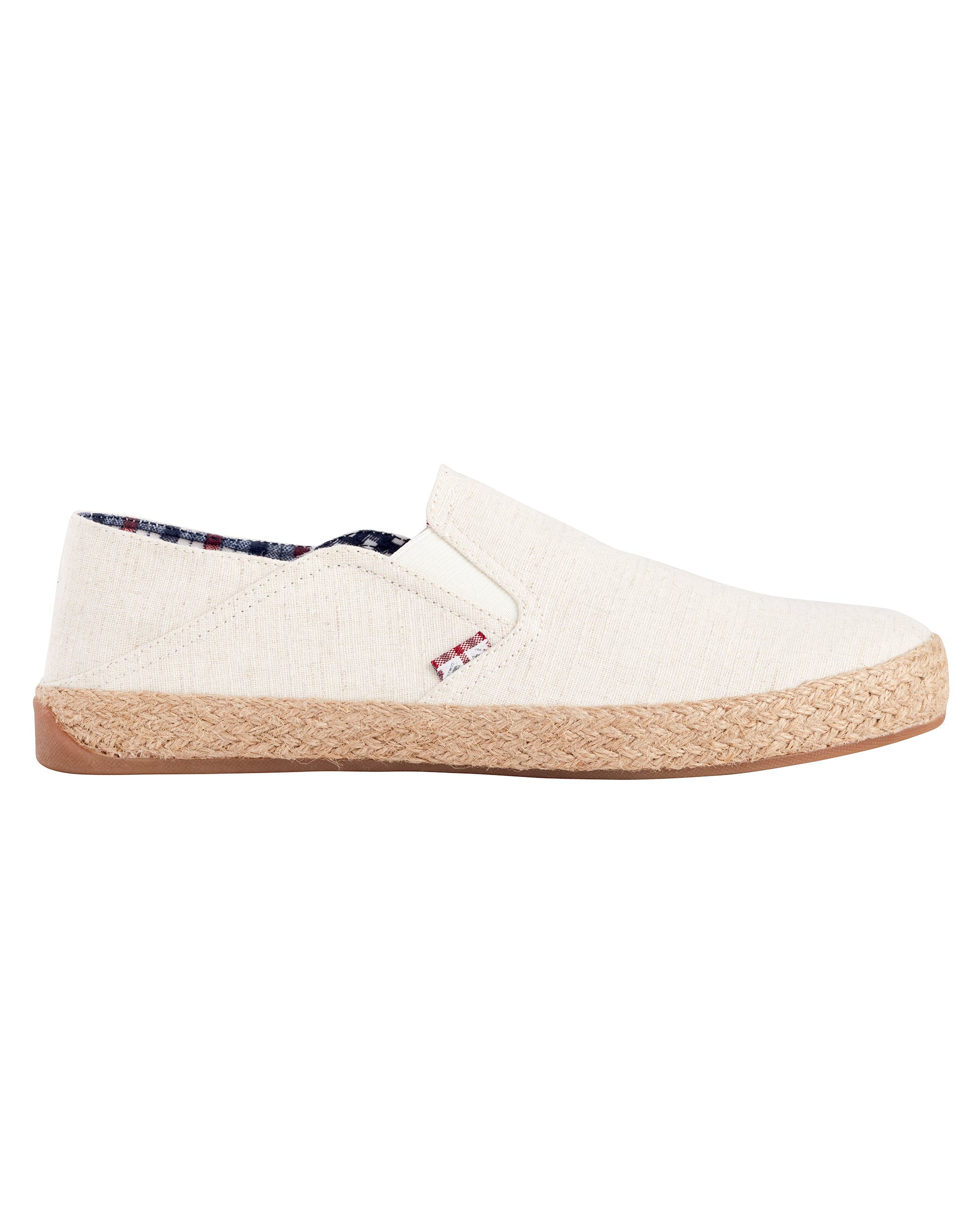 Prill Heel Slip-On - Natural