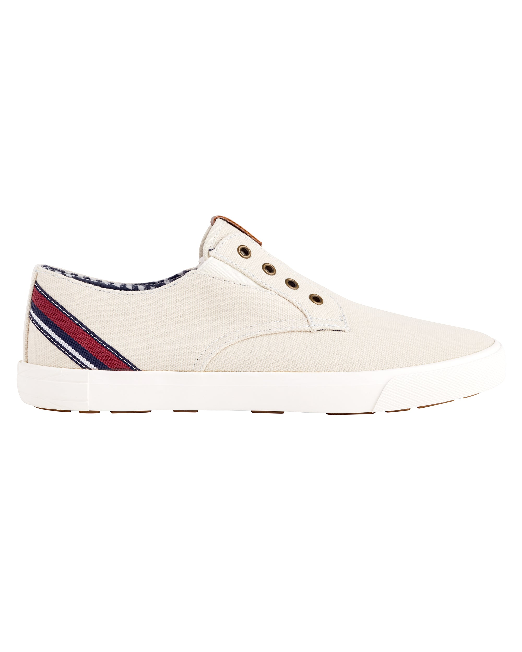 Pete Laceless Canvas Sneaker - Stone