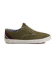 Pete Laceless Canvas Sneaker - Olive Canvas