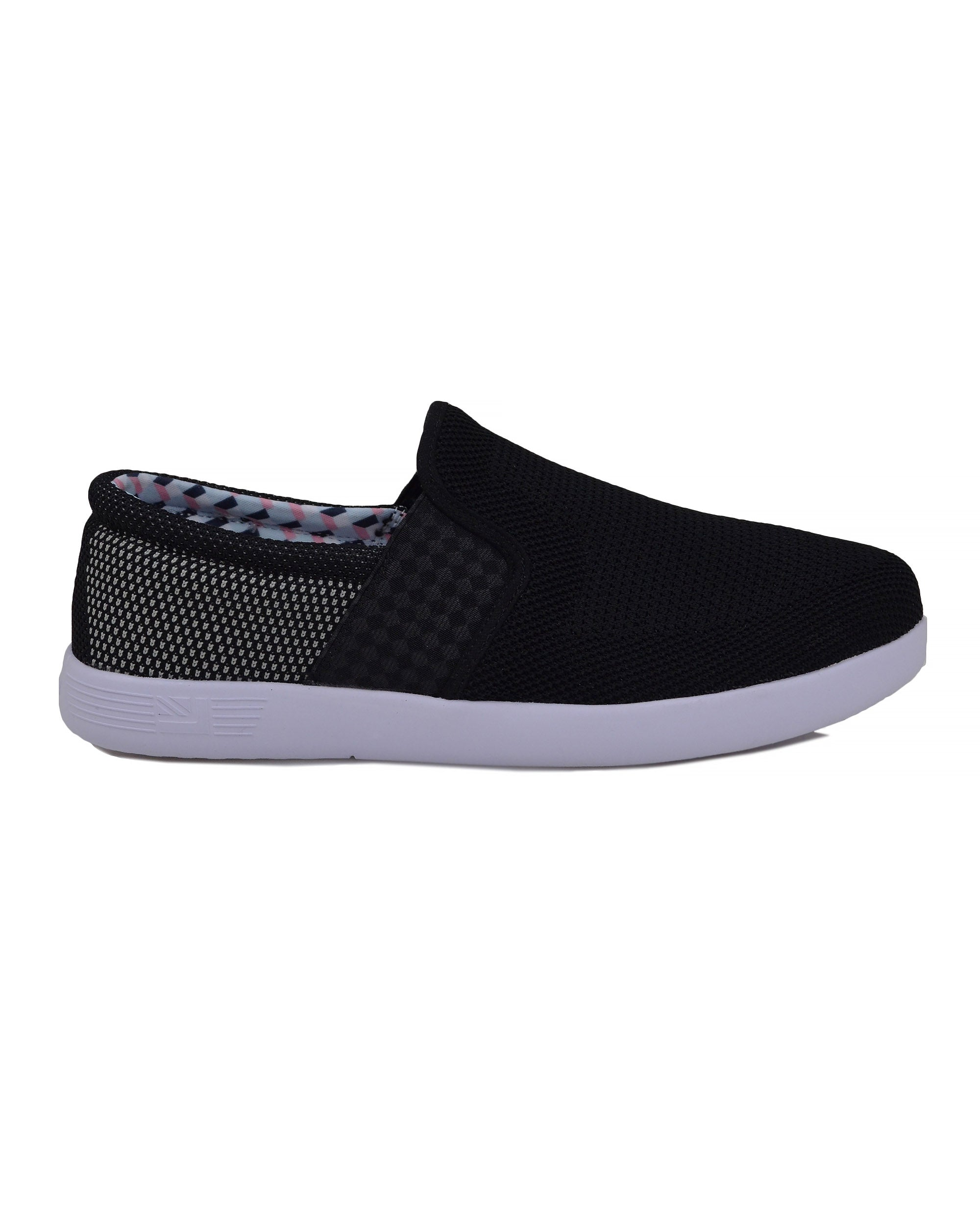 Parnell Mesh Slip-On Sneaker - Black