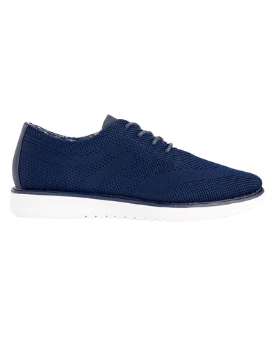 Nu Flyknit Casual Wingtip Shoe - Navy