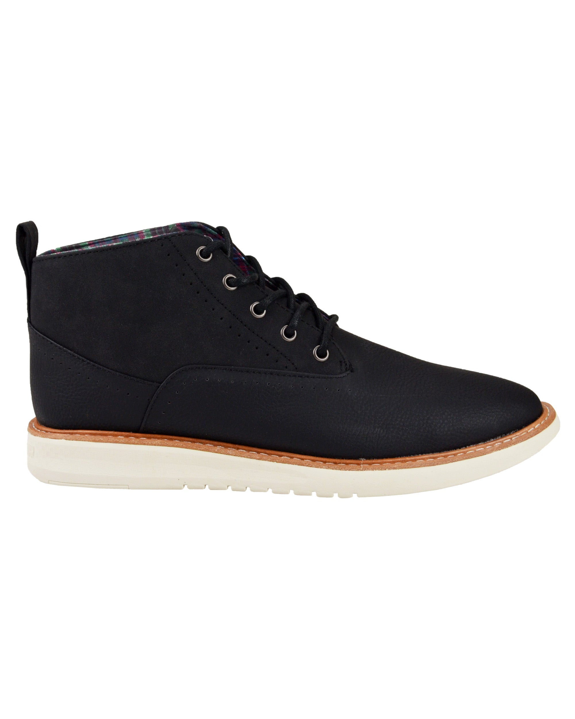 Omega Casual Chukka Boot - Black