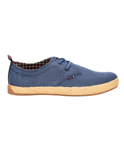 Prill Oxford Knit Sneaker - Navy