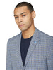 Crown Check Sportcoat Jacket - Navy