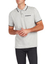 Short-Sleeve Supima Polo Shirt - Heather Grey