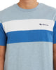 Short-Sleeve Colorblock Crewneck Tee - Sky Way