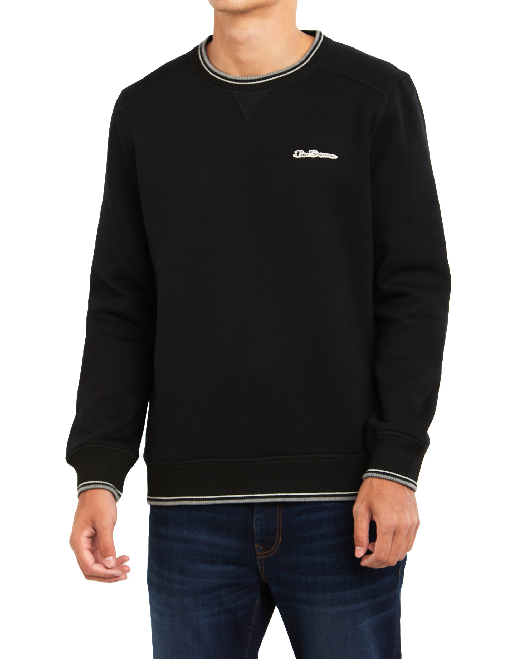 Logo Crewneck Sweatshirt - Black
