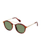 James Eco-Green Men's Sunglasses - Tortoise/G15
