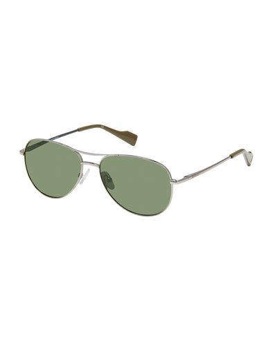 Leo Eco-Green Sunglasses - Light Gun/G15