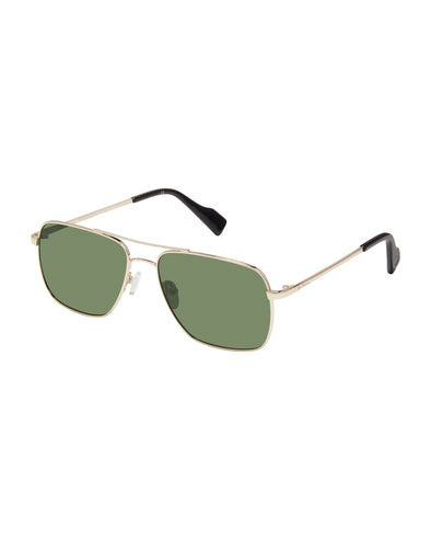 Stephen Eco-Green Men's Sunglasses - Gold/G15