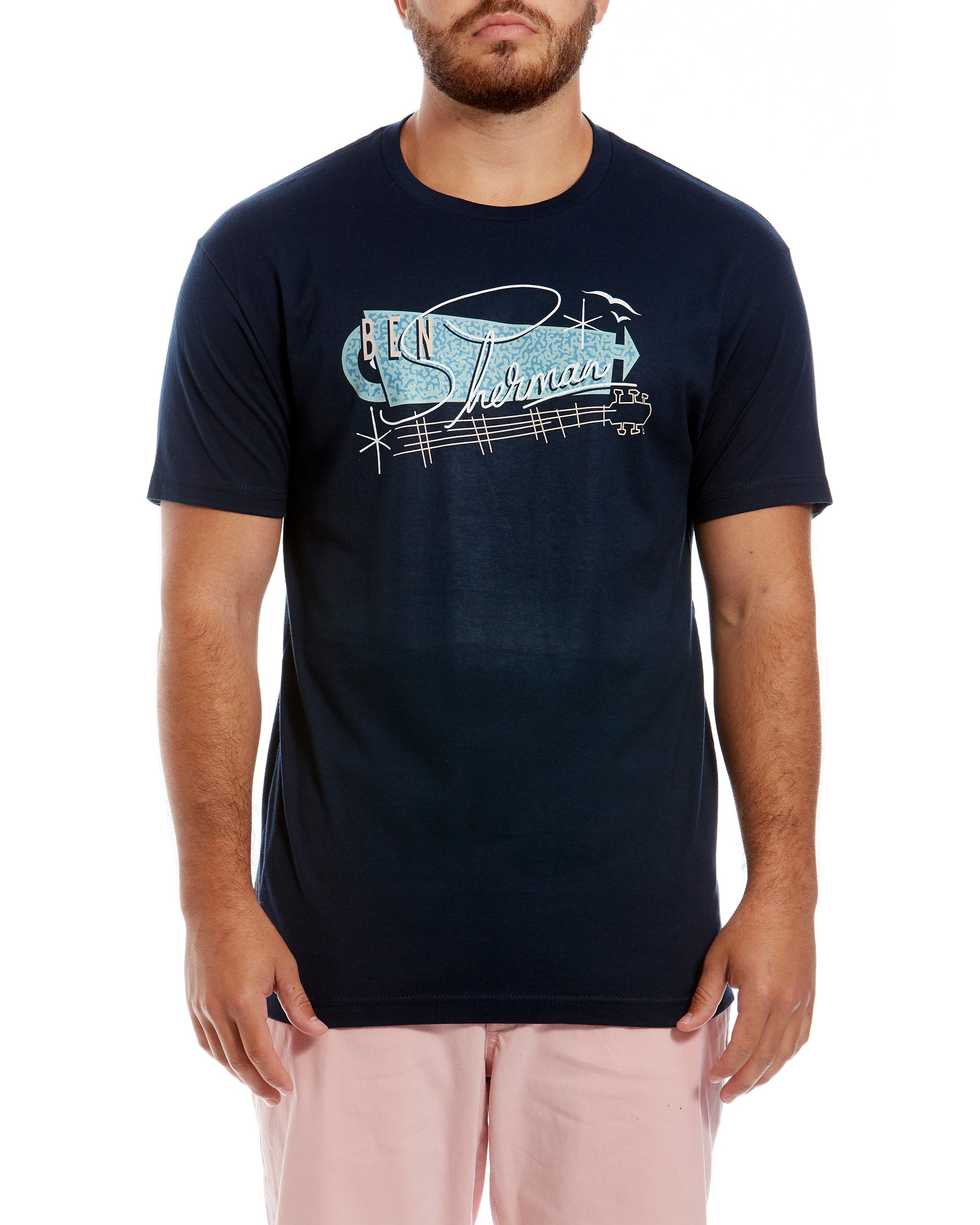 Springs Resort Graphic Tee - Midnight Navy