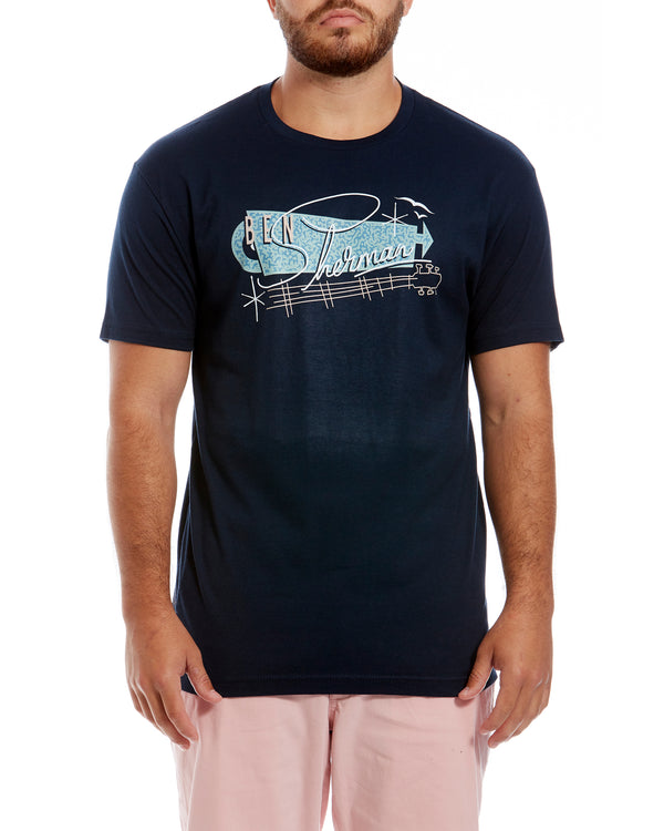 2afb8d425 Springs Resort Graphic Tee - Midnight Navy