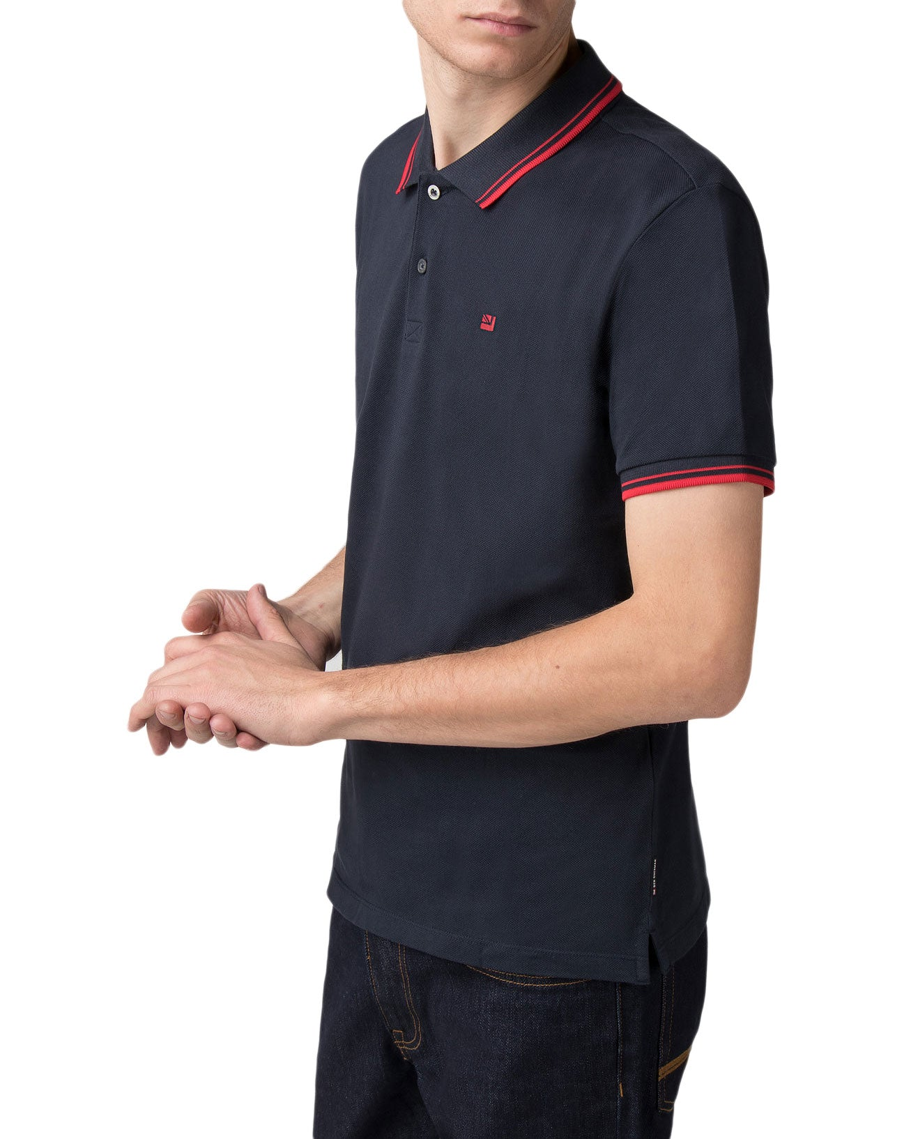 Romford Polo Shirt - Staples Navy