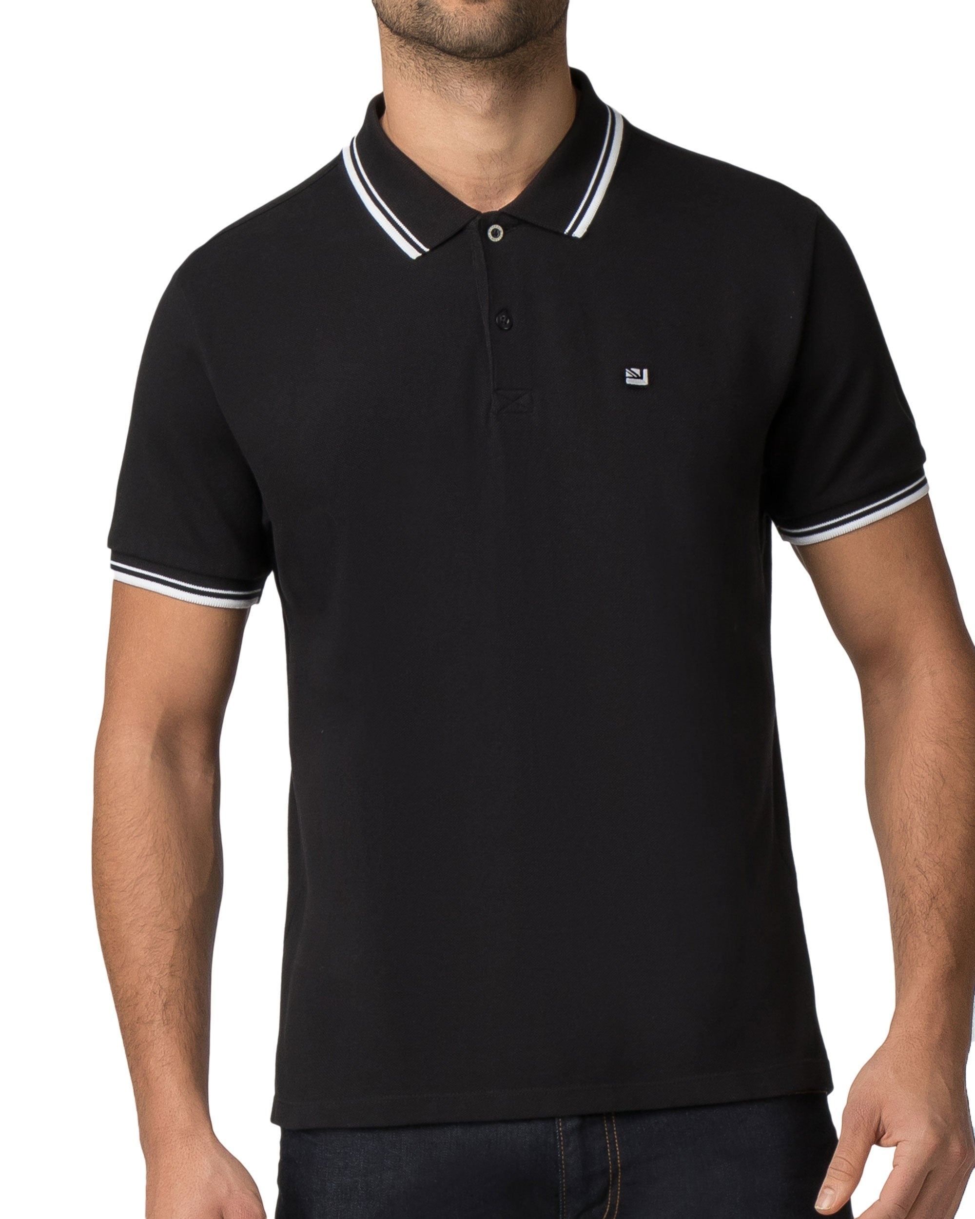 Romford Polo Shirt - True Black
