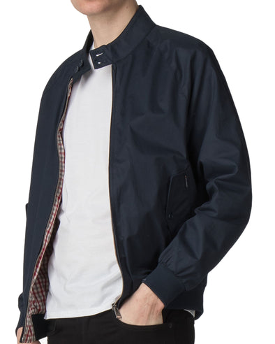 Core Harrington Jacket - Dark Navy