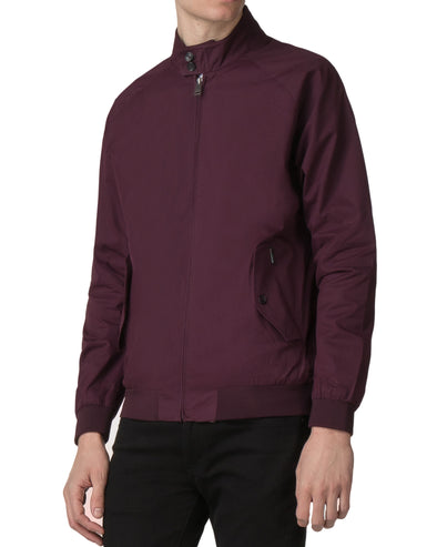 Harrington Jacket - Wine