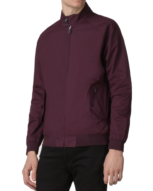 Core Harrington Jacket - Wine