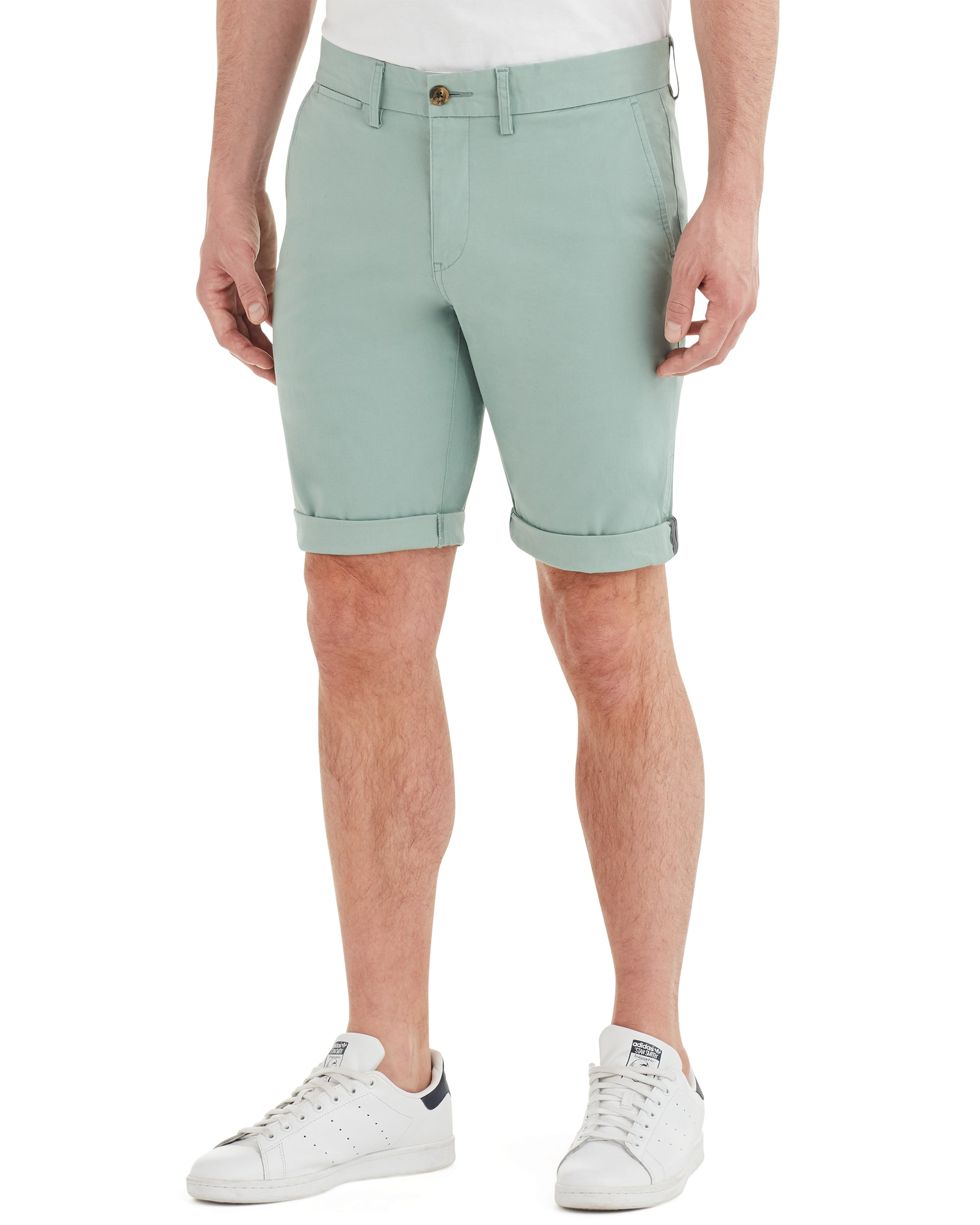 343bd0284e Slim Stretch Chino Short - Blue Surf – Ben Sherman