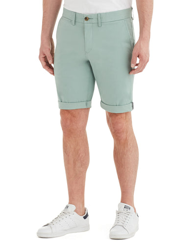 Slim Stretch Chino Short - Blue Surf