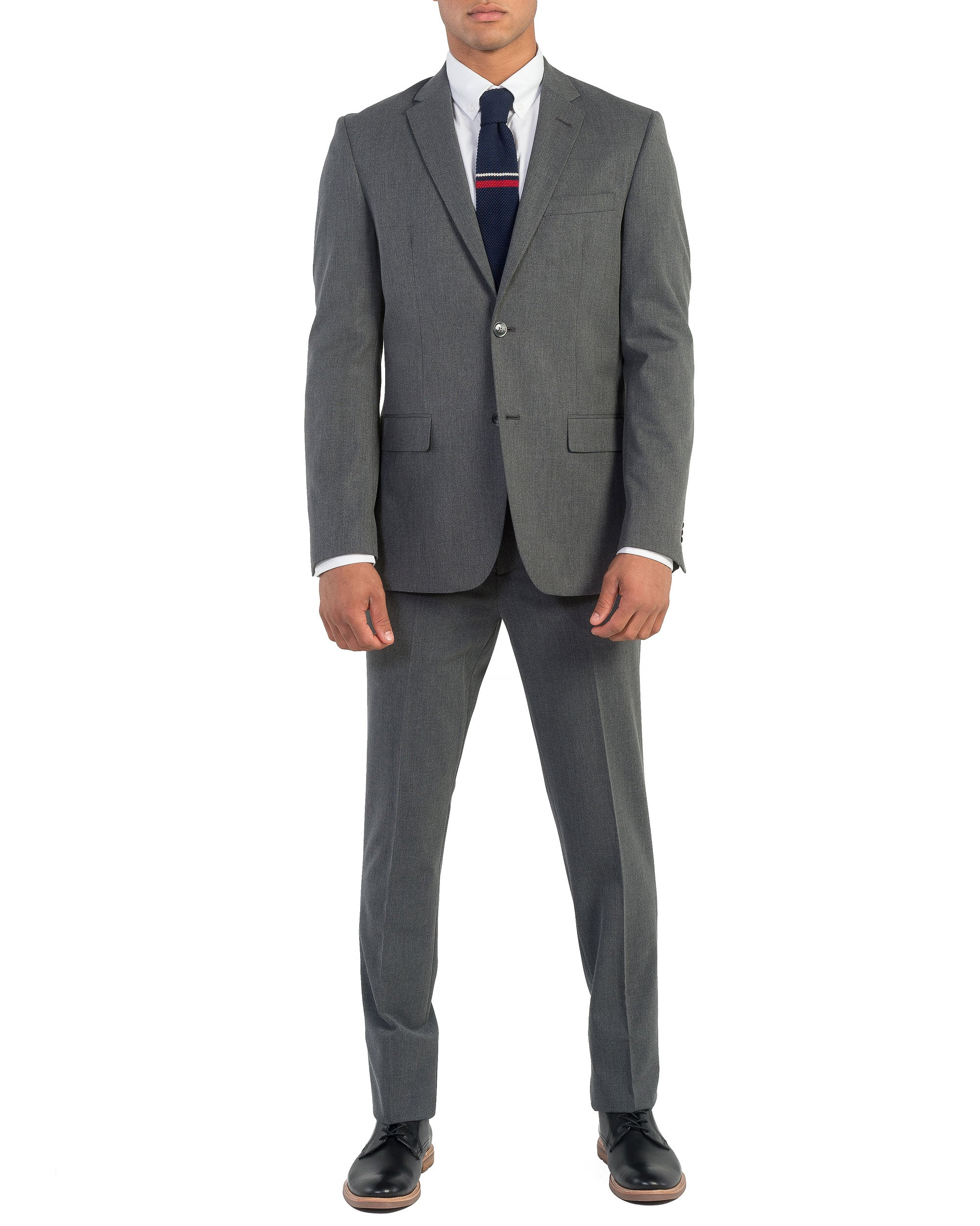 Bell Bi-Stretch Two-Button Side Vent Suit - Grey