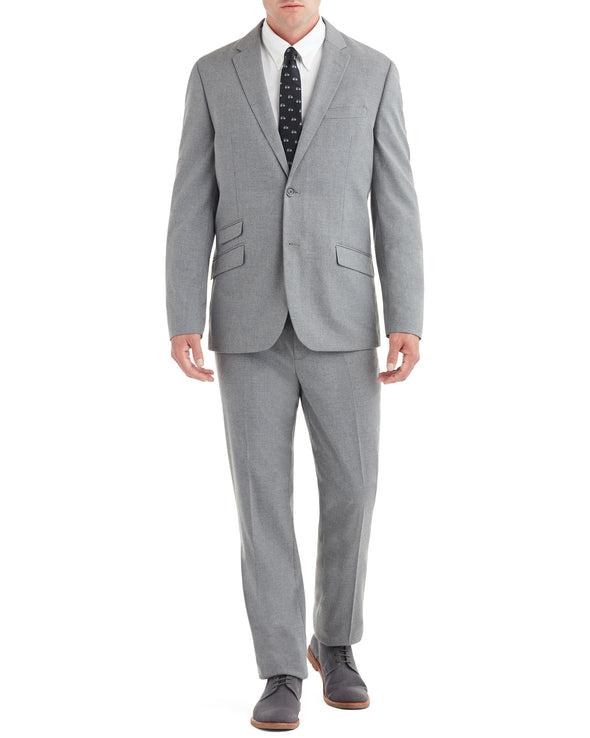 Aske Single-Breasted Suit - Grey