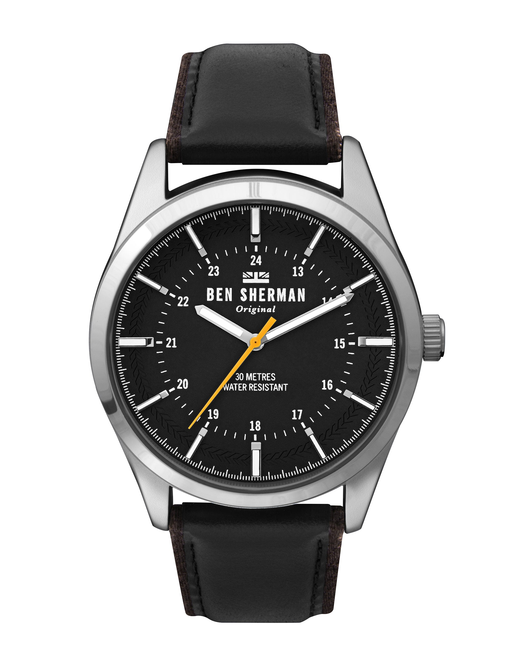 Men's Spitalfields Outdoor Watch - Black/Black/Silver