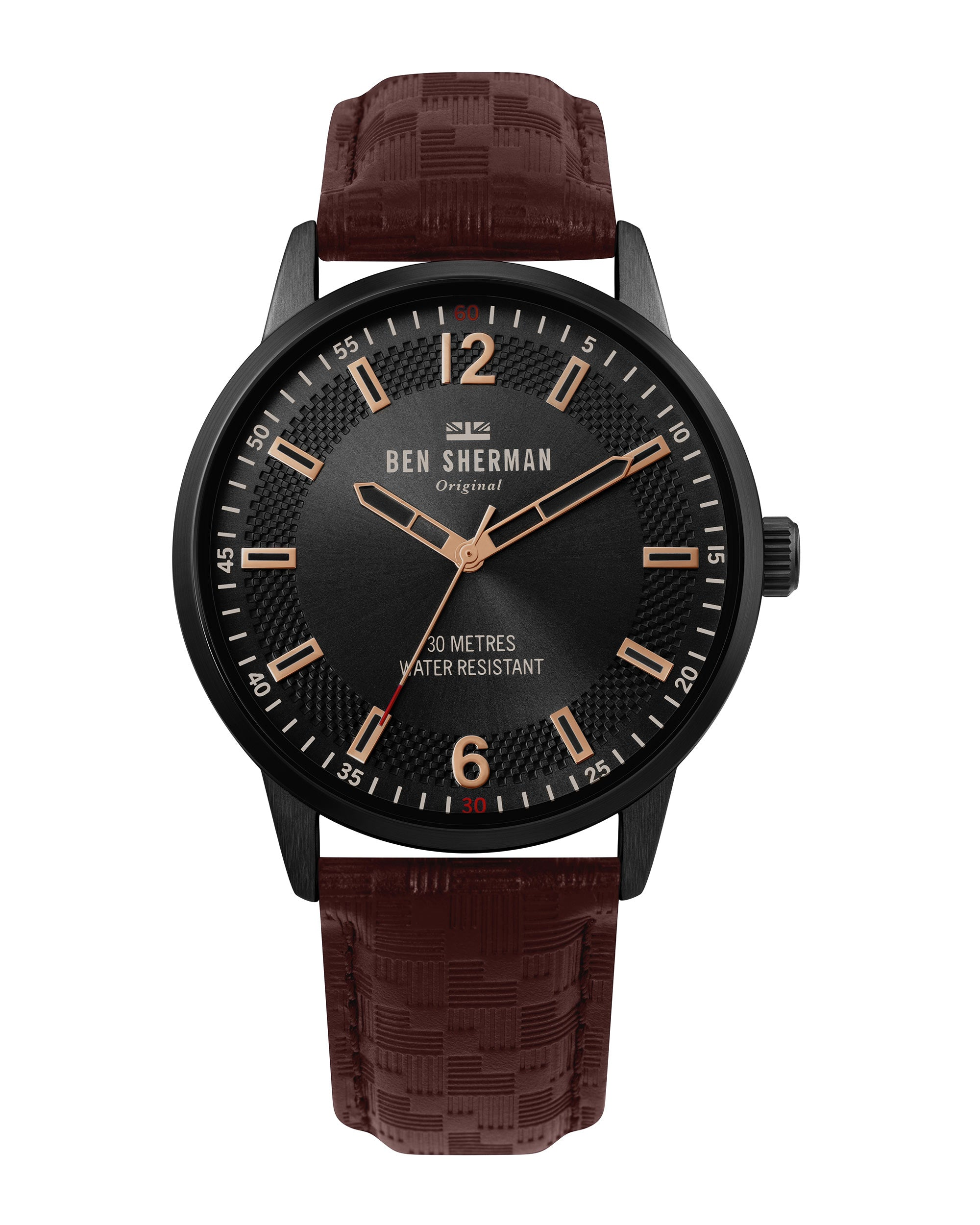 Men's Daltrey Social Watch - Brown/Black/Black