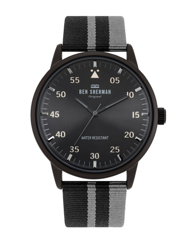 Men's Daltrey Sport Watch - Black/Black/Black