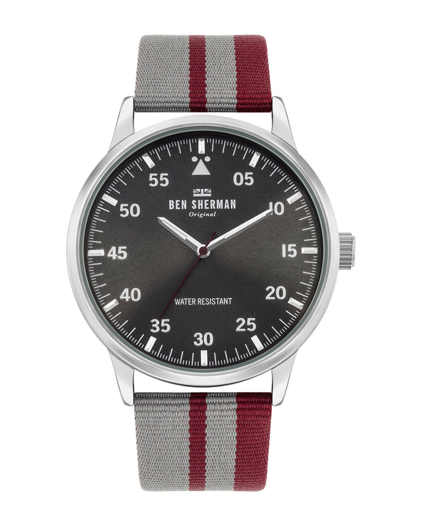 Men's Daltrey Sport Watch - Grey/Grey/Silver
