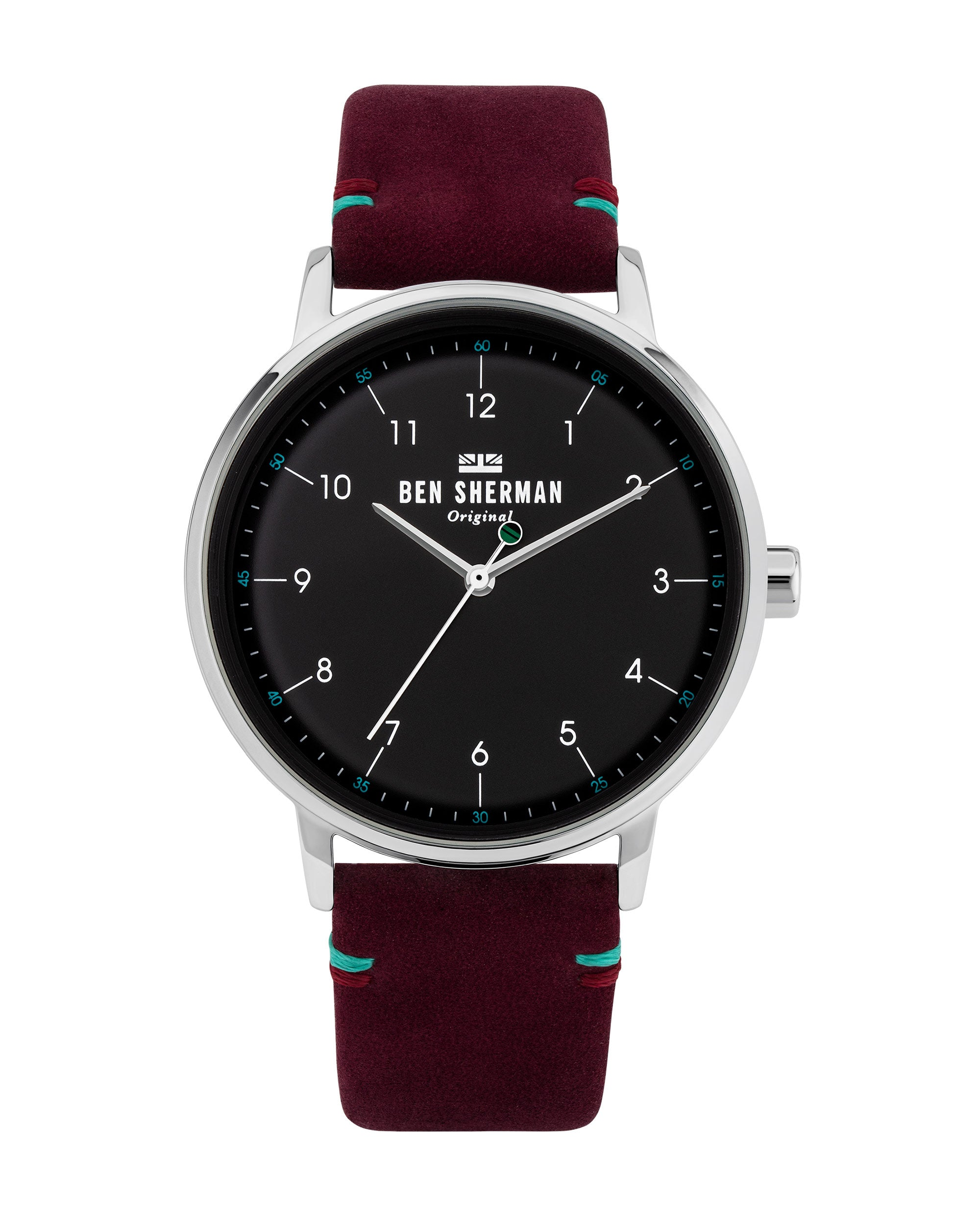 Men's Portobello City Watch - Mulberry/Black/Silver