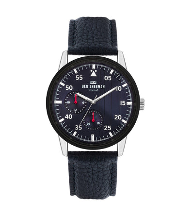Men's Daltrey Sport Watch - Navy/Navy/Silver