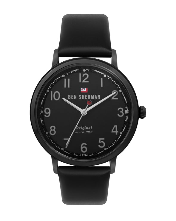 Men's Dylan Casual Watch - Black/Black/Black