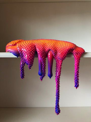 "MoMaCha: Dan Lam ""Broad"" sculpture"