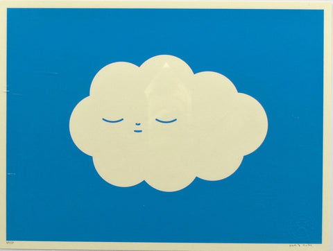 "FriendsWithYou Silkscreen Print: ""Little Cloud"""
