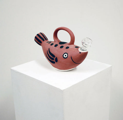 Sujet Poisson Bong (After Picasso) by Guy Overfelt