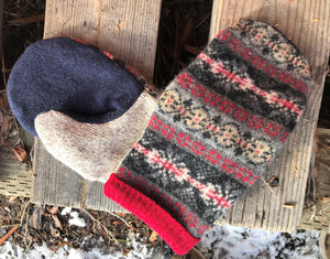 Fairisle MAD MITT - 1009
