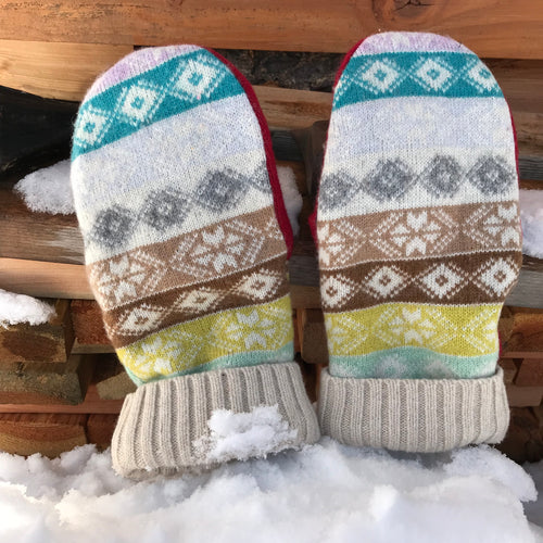 Fairisle MAD MITT - 1033