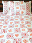 Handblock Printed Cotton Bedsheet - Double Bed