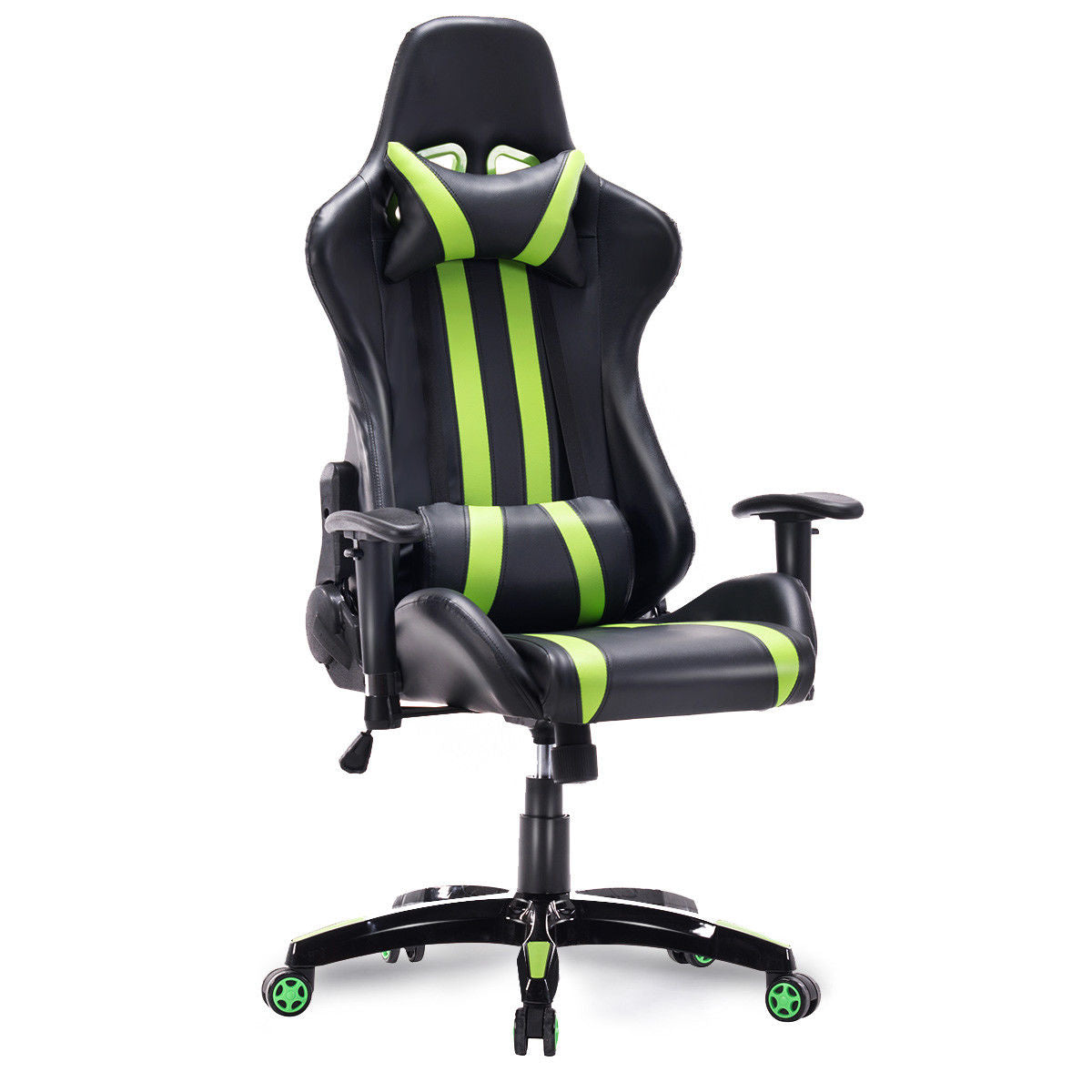 Surprising Gtx Neon Stripe Racer Gaming Chair Ocoug Best Dining Table And Chair Ideas Images Ocougorg