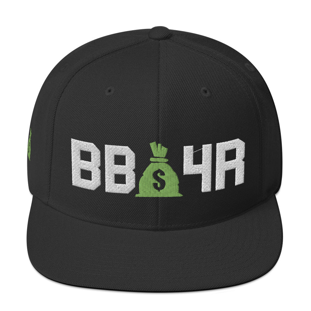 Money Bag Snapback Hat