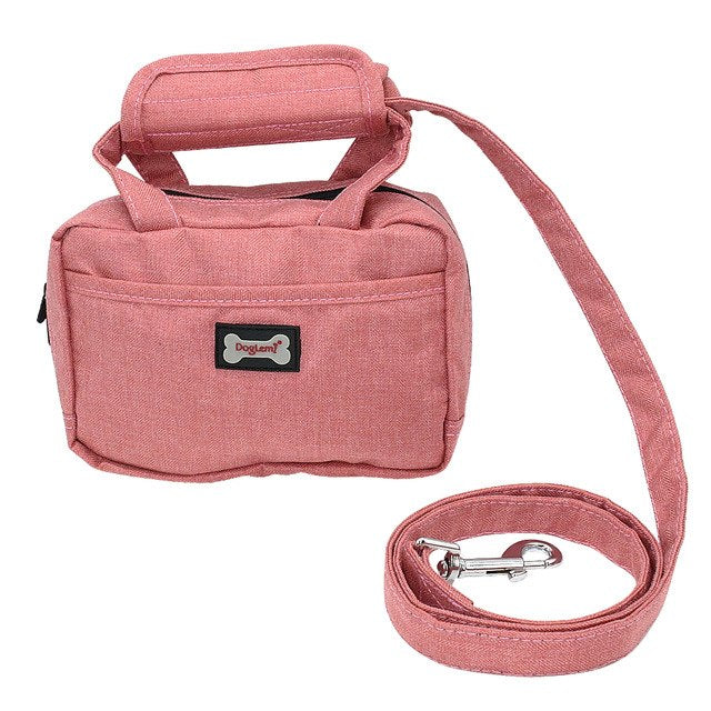 Portable Dog Training Treat Pouch Oxford Outdoor Puppy Snack Reward Bag Pet Toys Food Poop Bag Balls Keys Training Accessories