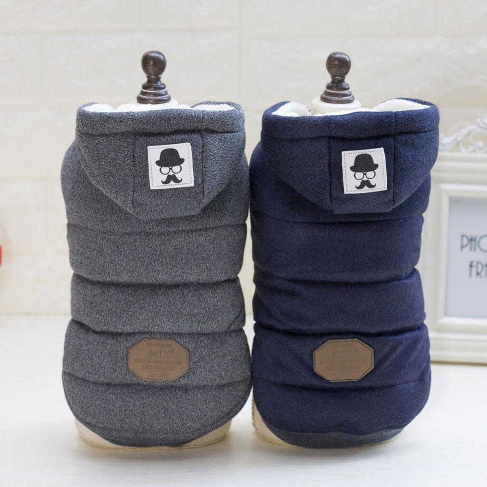 Dog Clothes Winter Warm Pet Dog Jacket Coat Puppy Chihuahua Clothing Hoodies For Small Medium Dogs Puppy Yorkshire Outfit
