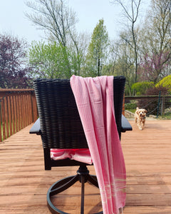 Turkish Towel Pink-100% Cotton