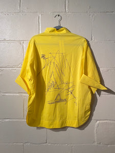 Yellow Top with Back Draw