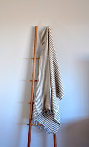 Zebra Gray Turkish Towel